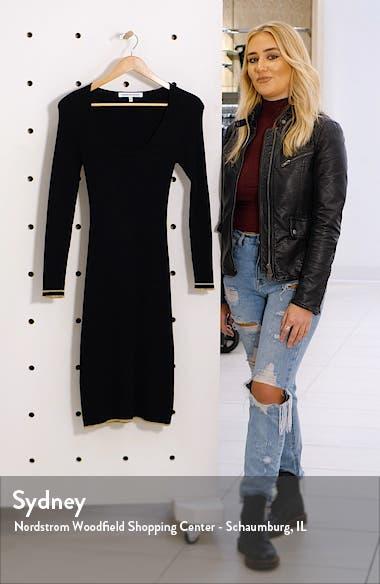 Claudia Long Sleeve Sweater Dress, sales video thumbnail