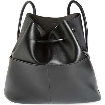 Bp. Faux Leather Drawstring Backpack - Black