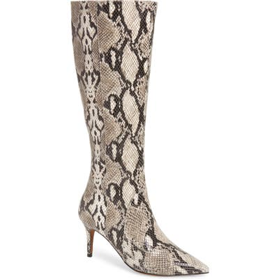Linea Paolo Perfect Knee High Boot- White