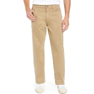 Mavi Jeans Max Relaxed Fit Twill Pants, Beige