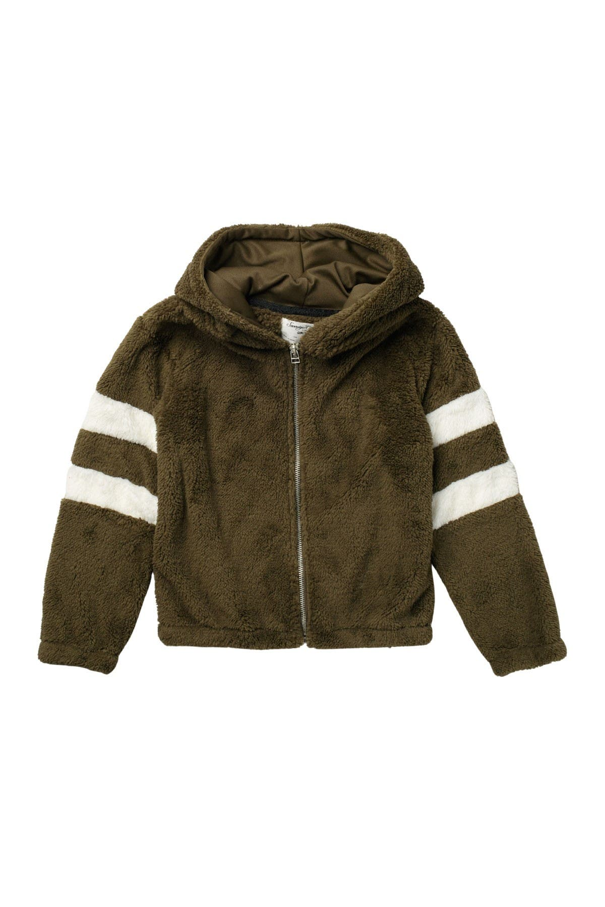 Image of Sovereign Code Cassia Teddy Hoodie Jacket