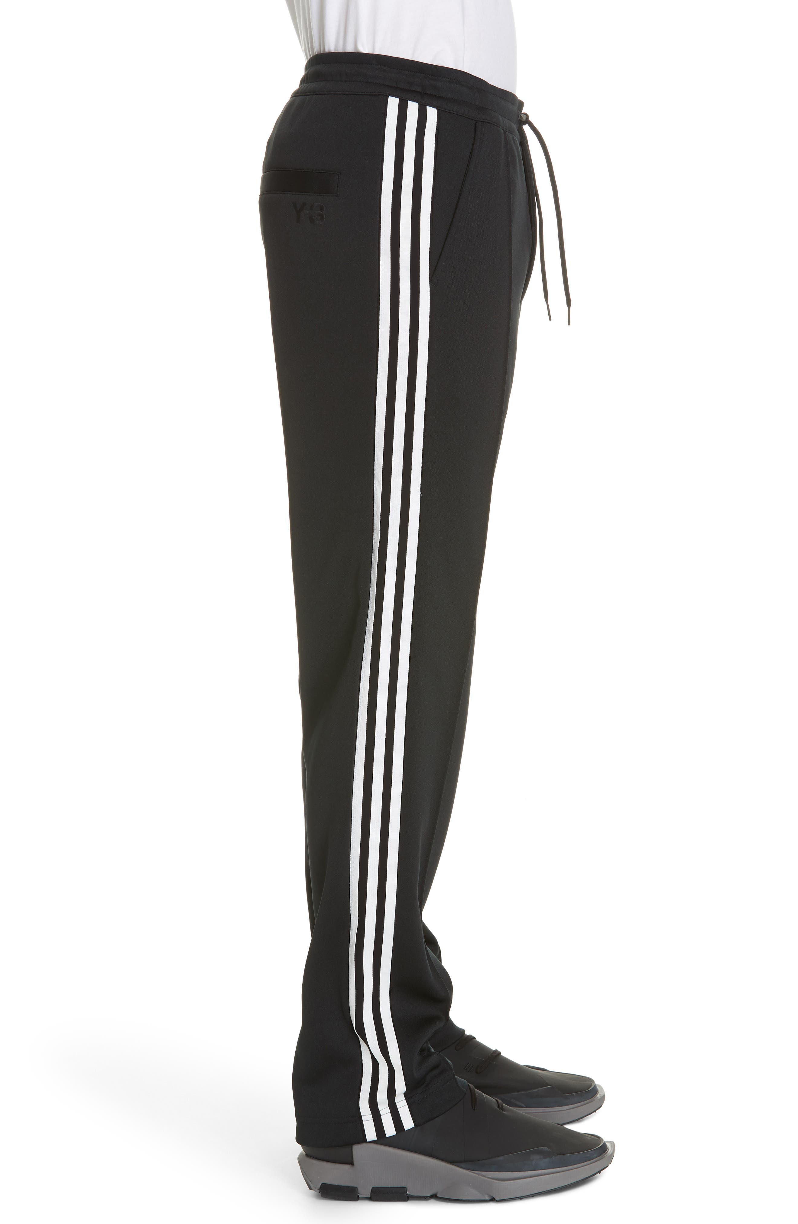 ,                             x adidas 3-Stripes Track Pants,                             Alternate thumbnail 3, color,                             BLACK