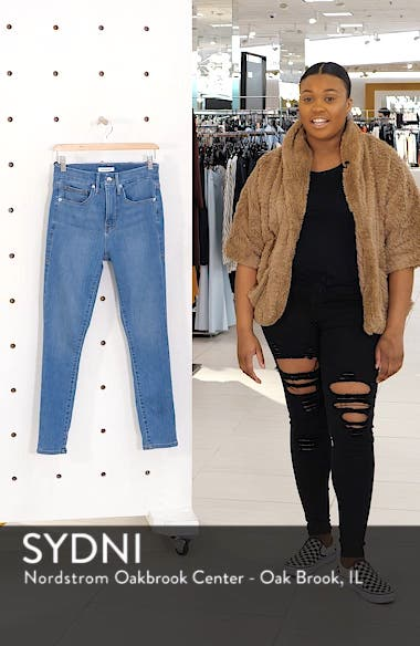 Good Legs High Waist Ankle Skinny Jeans, sales video thumbnail