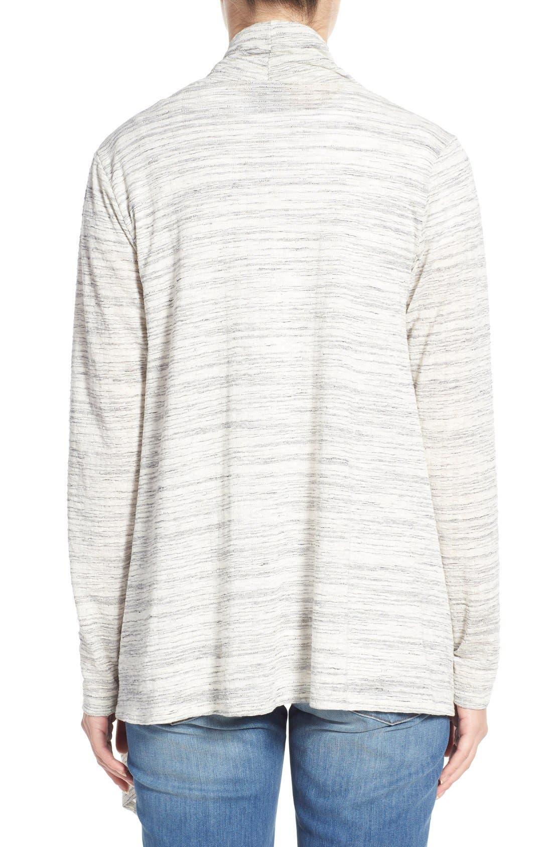 ,                             One-Button Fleece Wrap Cardigan,                             Alternate thumbnail 59, color,                             129
