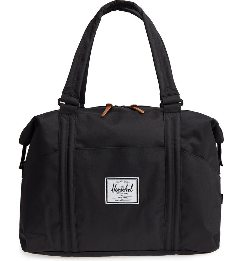 HERSCHEL SUPPLY CO. Strand Duffle Bag, Main, color, BLACK
