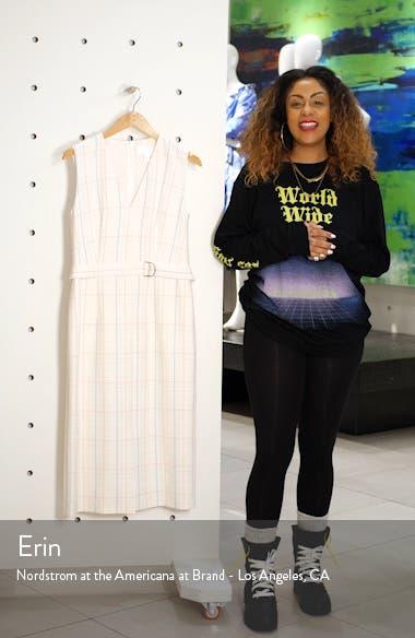Check Faux Wrap Dress, sales video thumbnail