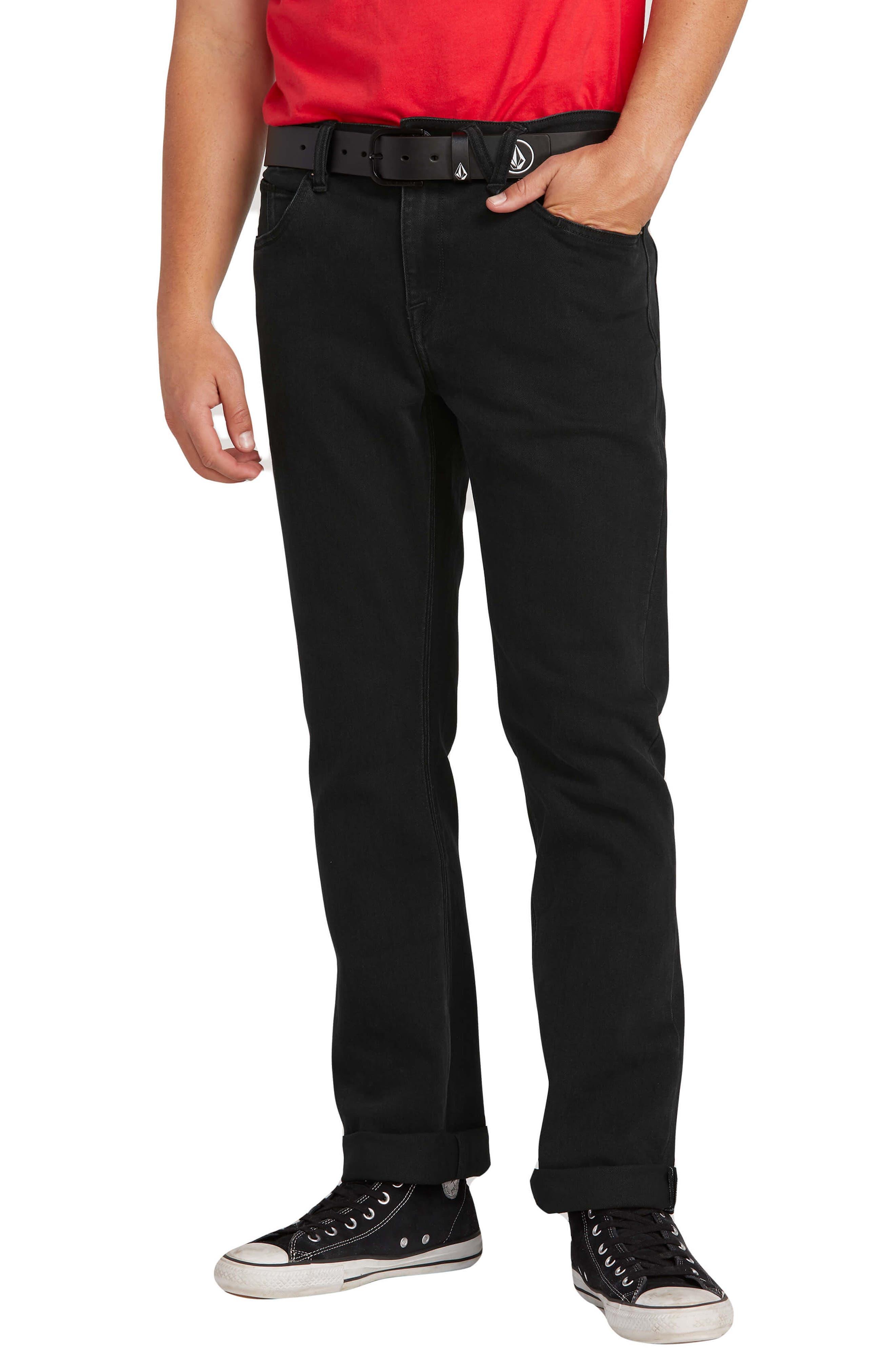 Men's Volcom 'Solver' Straight Leg Jeans