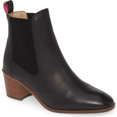 Joules Hartford Chelsea Boot, Black