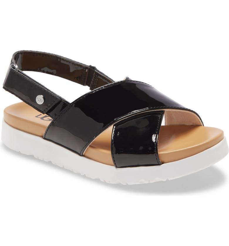 UGG<SUP>®</SUP> Klara Platform Sandal, Main, color, 001