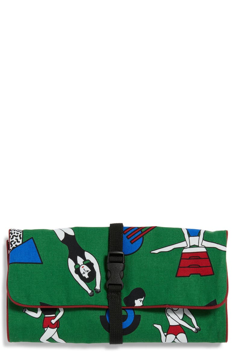 OOHLALA OhhLaLa Home Roll Toiletry Pouch, Main, color, 300