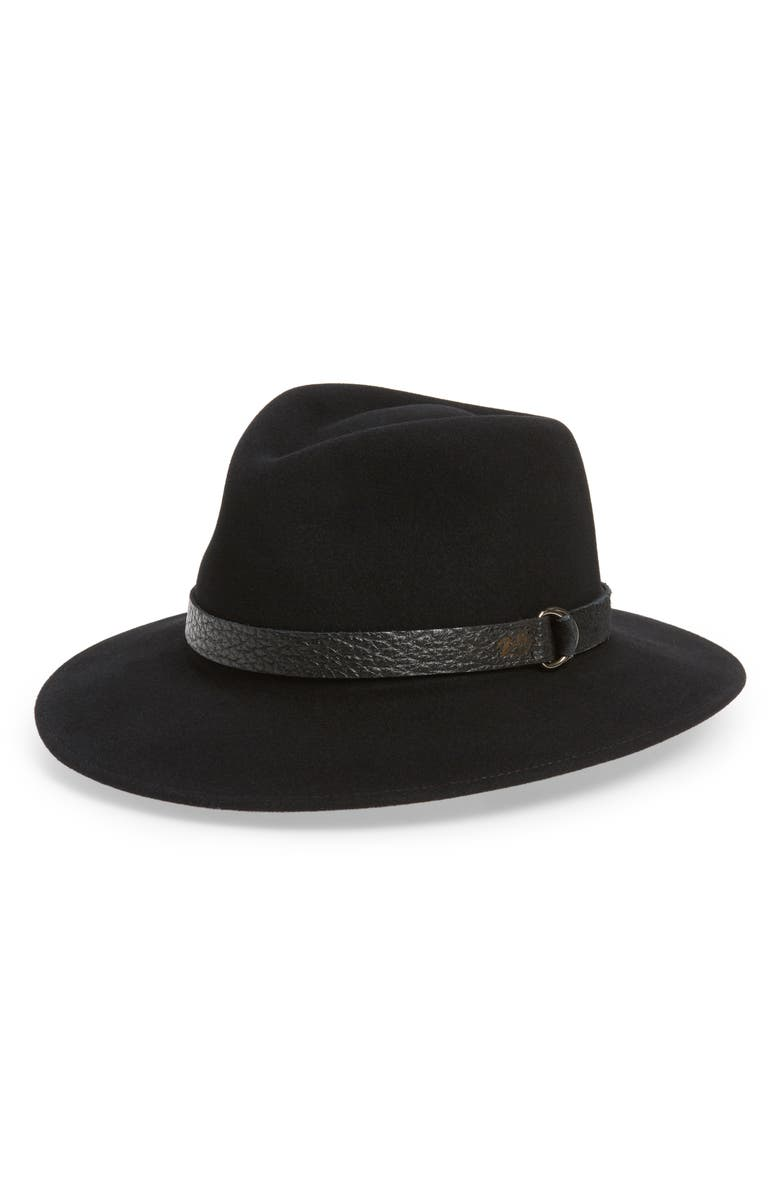 BAILEY Welt Fedora, Main, color, BLACK
