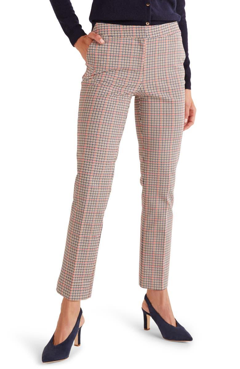 BODEN Richmond Stretch Cotton Trousers, Main, color, 814