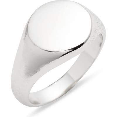 Argento Vivo Signet Ring