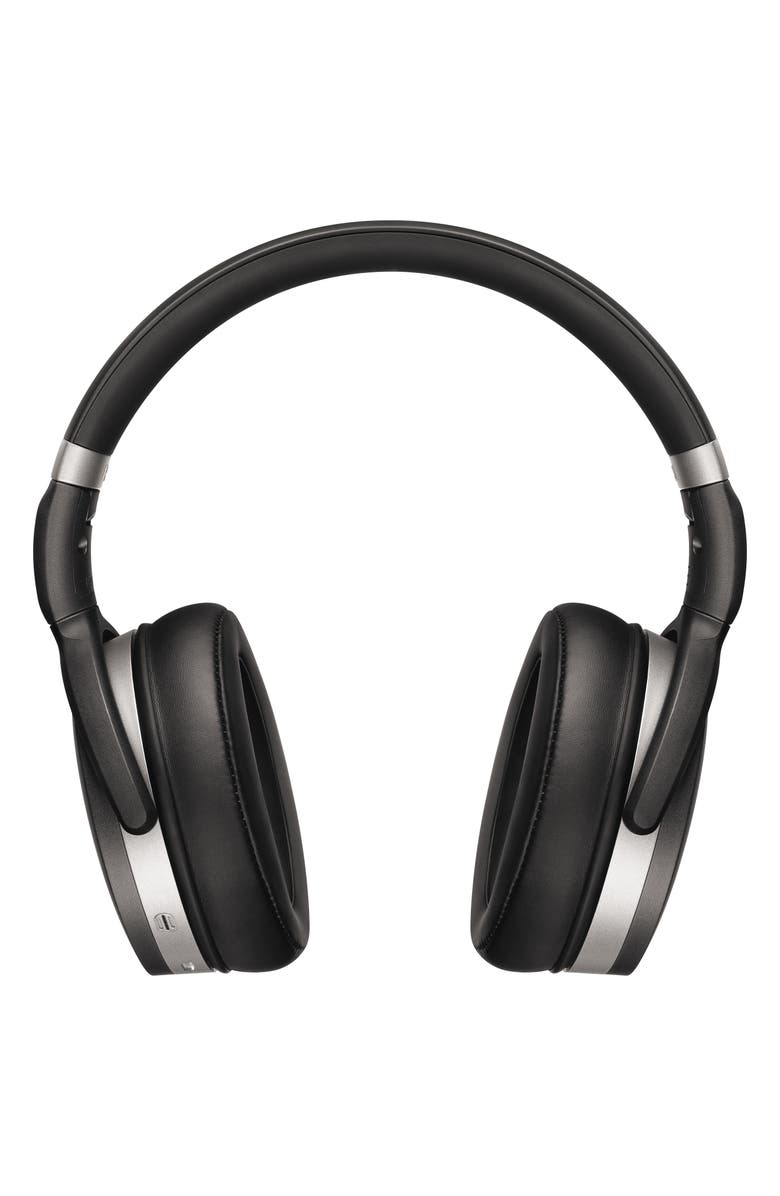 SENNHEISER HD 4.50 Bluetooth<sup>®</sup> Noise Cancelling Over-Ear Headphones, Main, color, BLACK/ SILVER