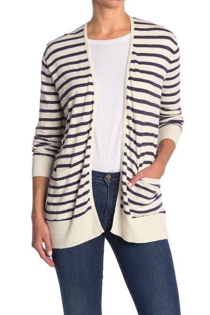 Image of Madewell Striped Lightweight Pocket Cardigan