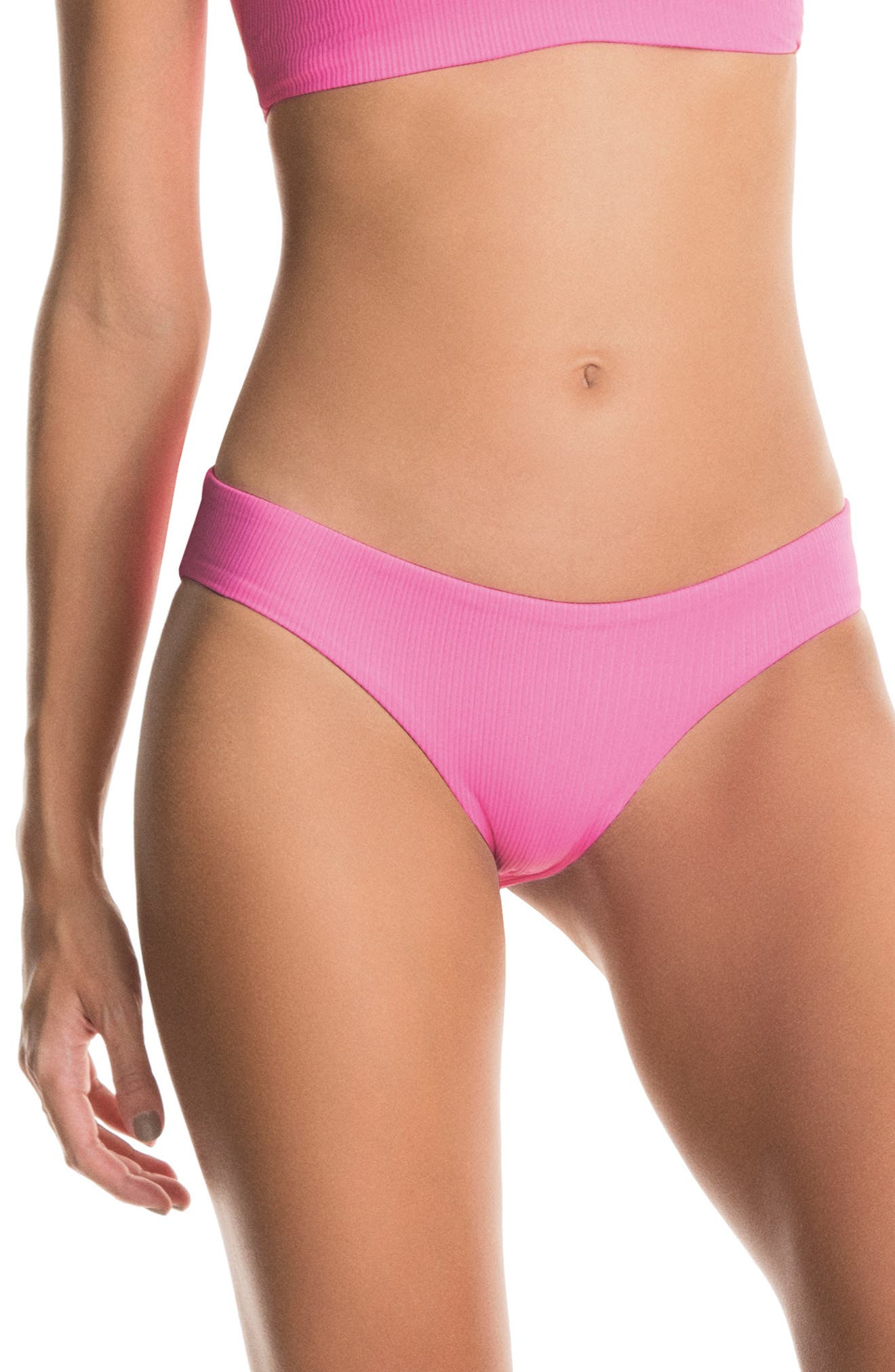 Aurora Pink Sublime Reversible Bikini Bottoms