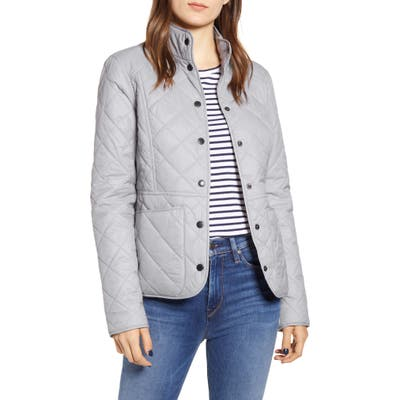 Barbour Fell Quilted Jacket, 18 UK - White