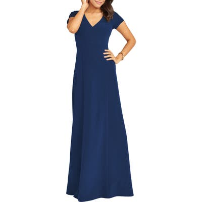 Show Me Your Mumu Geneva Gown, Blue