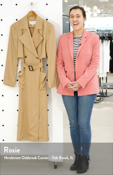 Melody Belted Trench Coat, sales video thumbnail