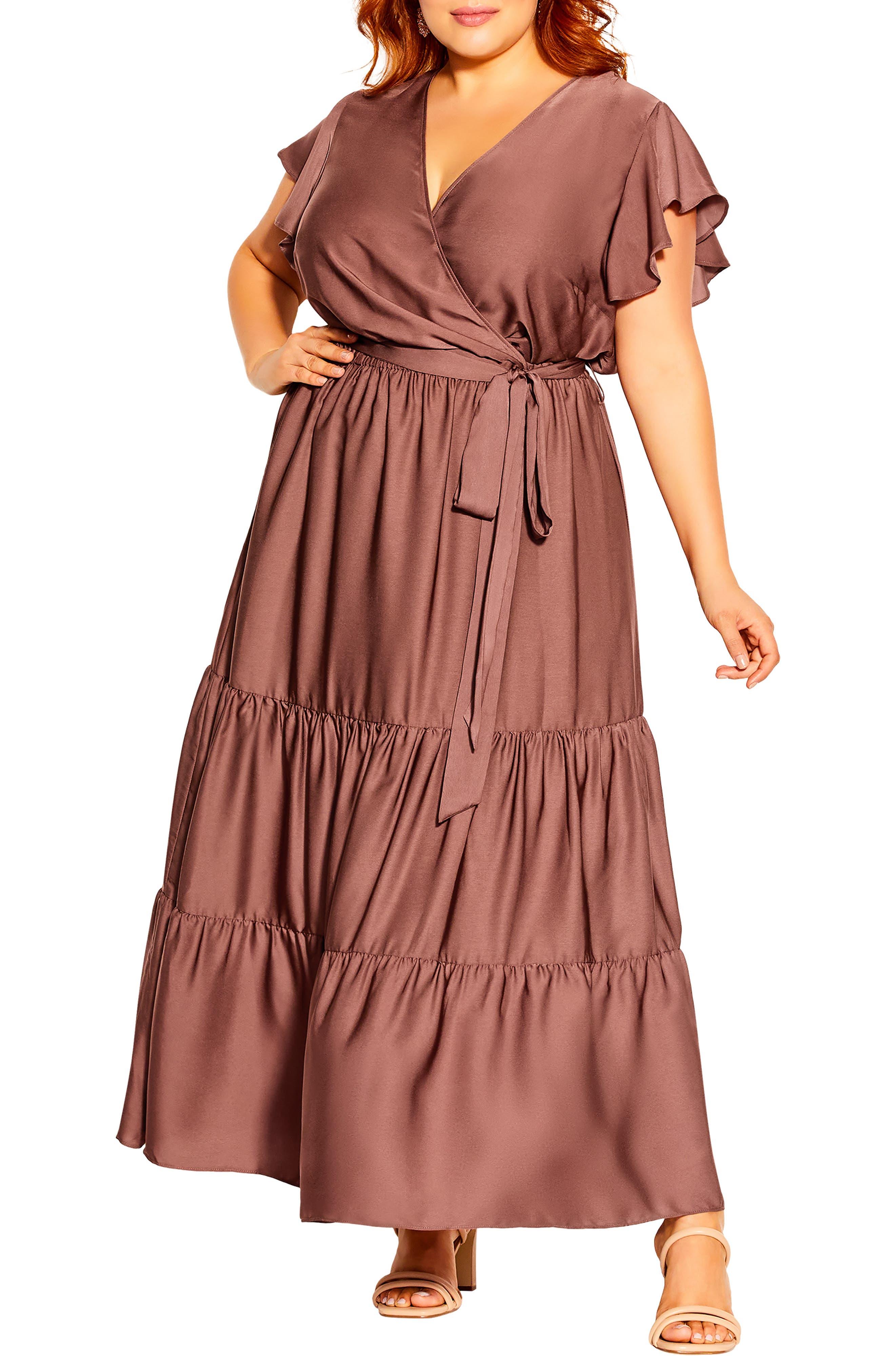Flutter Away Maxi Dress