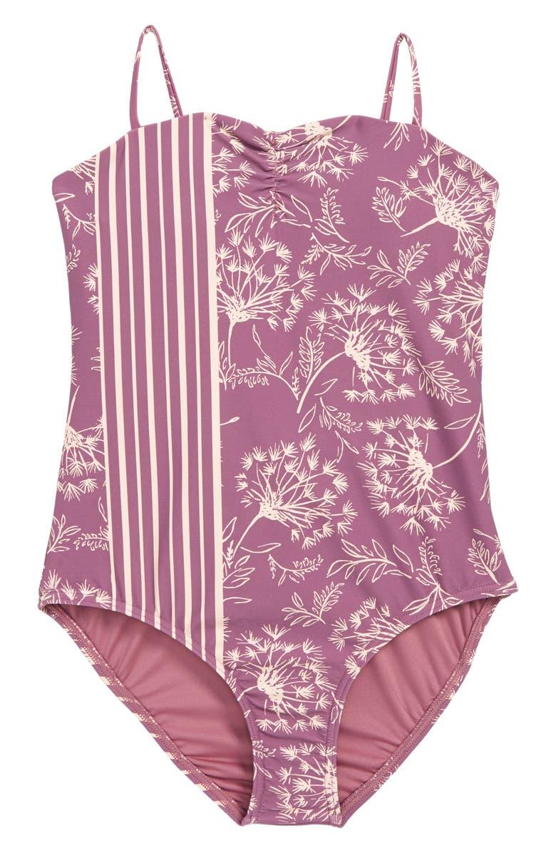 O'NEILL Layne One-Piece Swimsuit, Main, color, STRIKING PURPLE