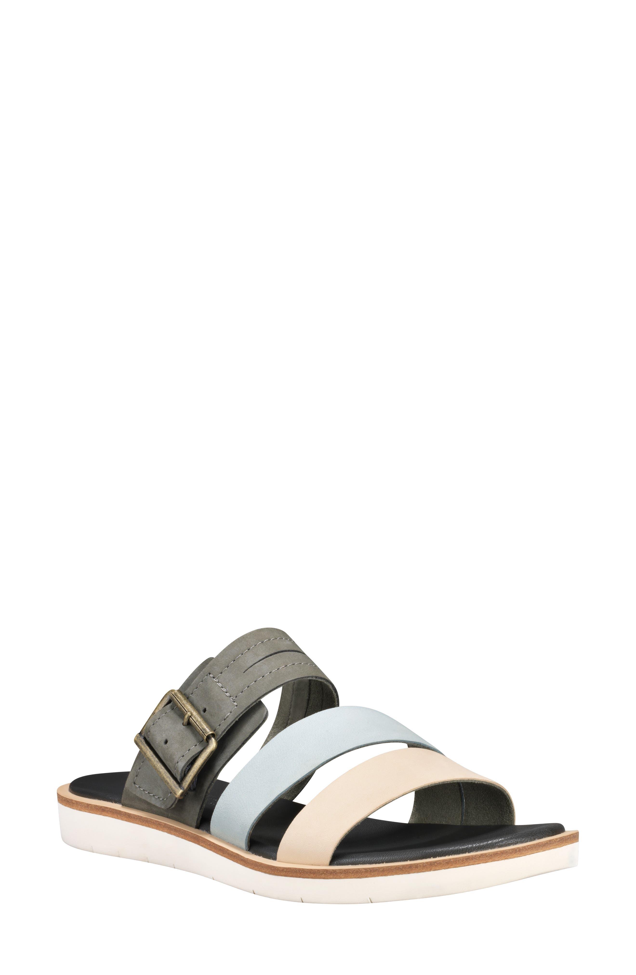 Timberland Adley Shore Slide Sandal- Grey