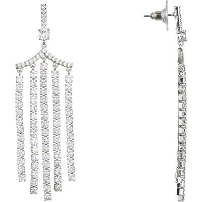 Nina Fringe Chandelier Earrings