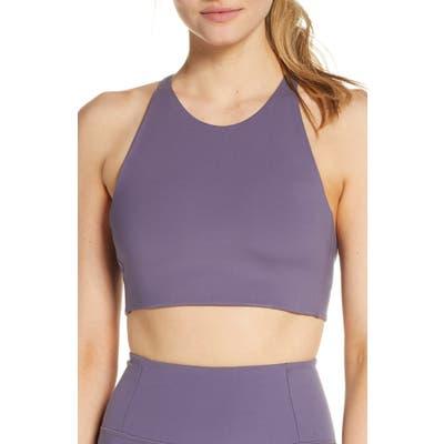 Girlfriend Collective Topanga Sports Bra, Purple