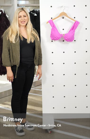 Getaway Solids Underwire Bikini Top, sales video thumbnail