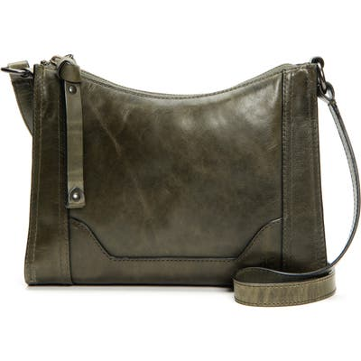 Frye Melissa Leather Crossbody Bag - Green