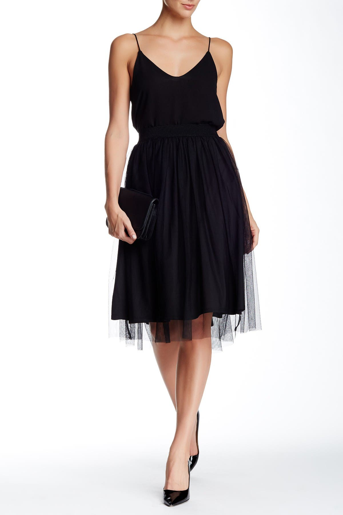 Image of Free Press Tulle Skirt