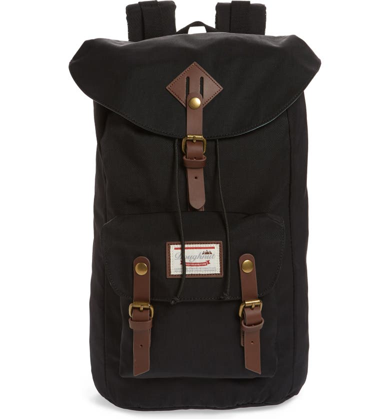 DOUGHNUT Heritage Water Repellent Backpack, Main, color, 001
