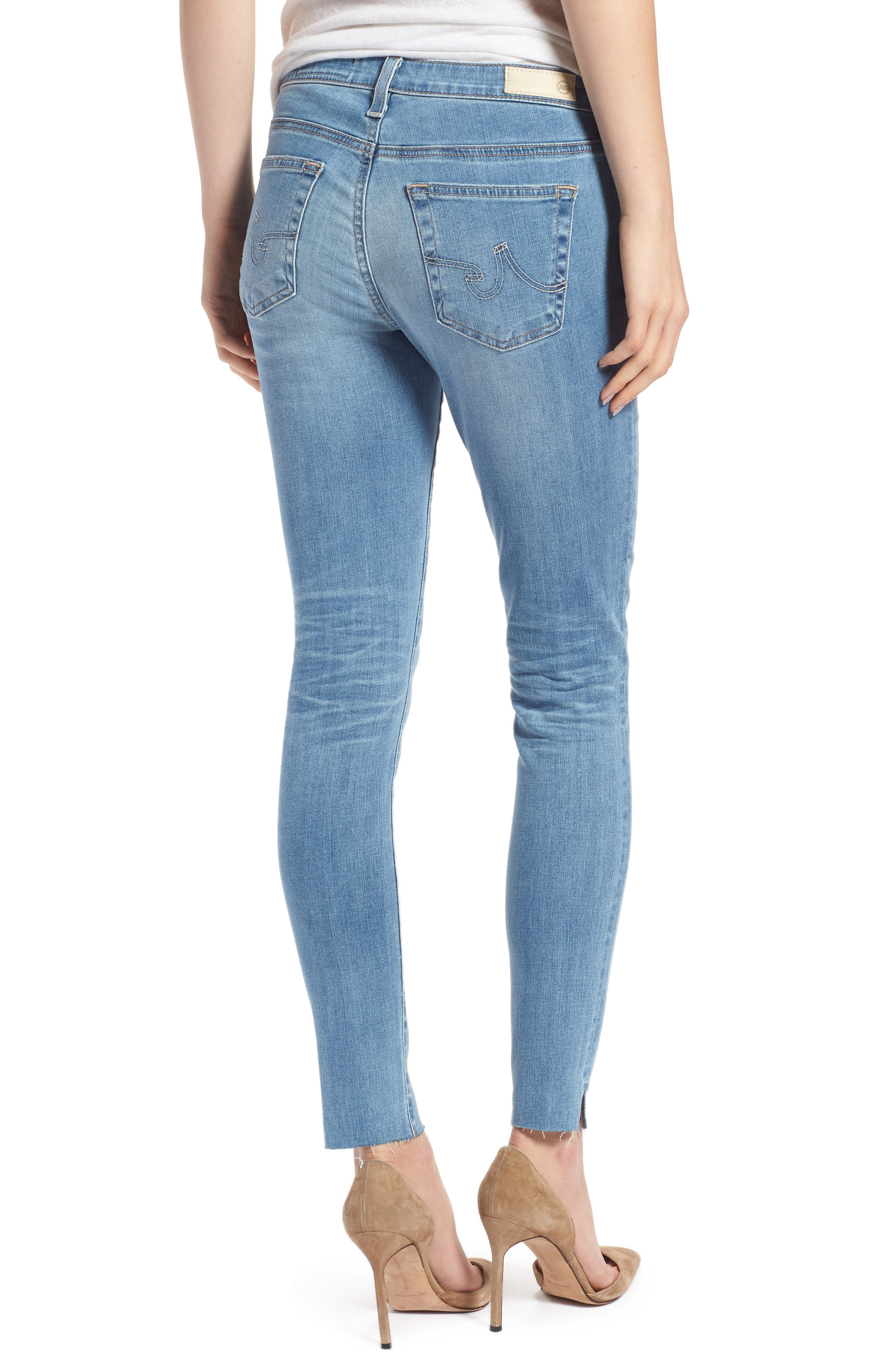 ,                             The Legging Ripped Ankle Skinny Jeans,                             Alternate thumbnail 9, color,                             427
