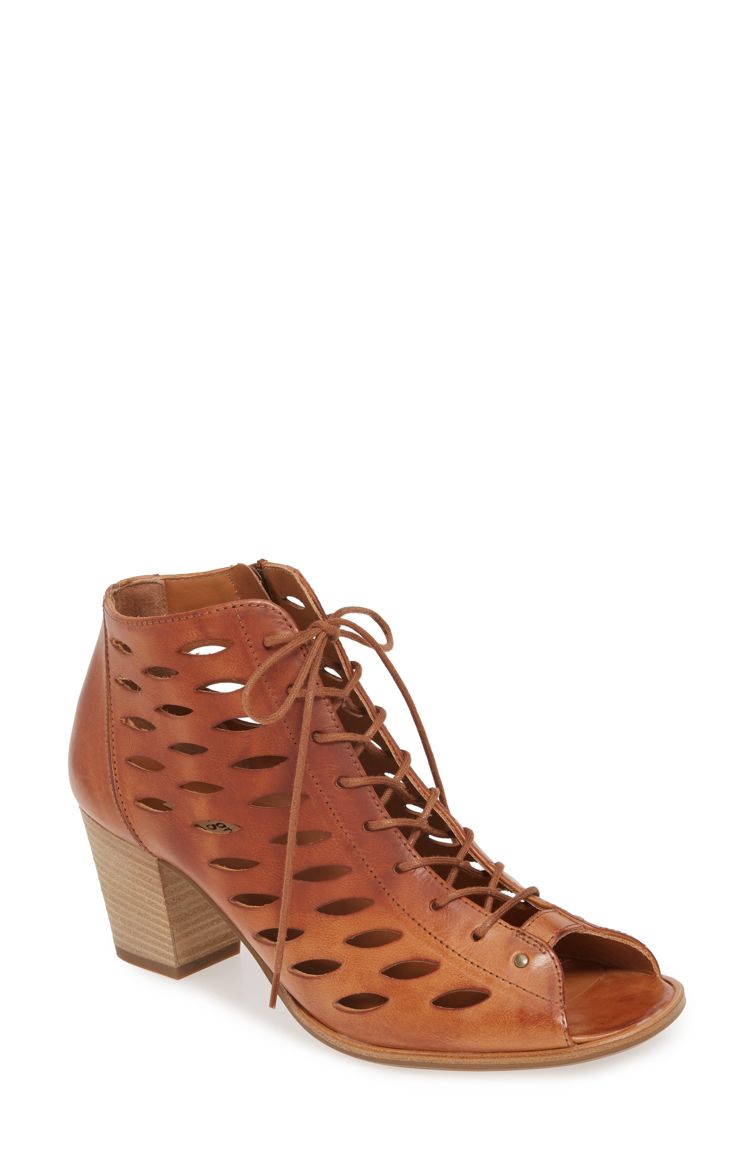 Paul Green Bali Lace-Up Bootie Sandal (Women)