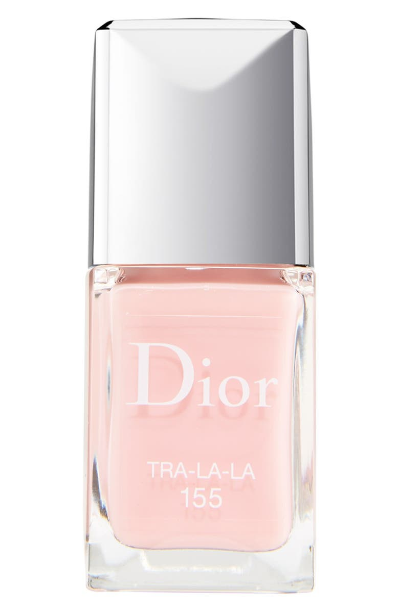 DIOR Vernis Gel Shine & Long Wear Nail Lacquer, Main, color, 155 TRA LA LA