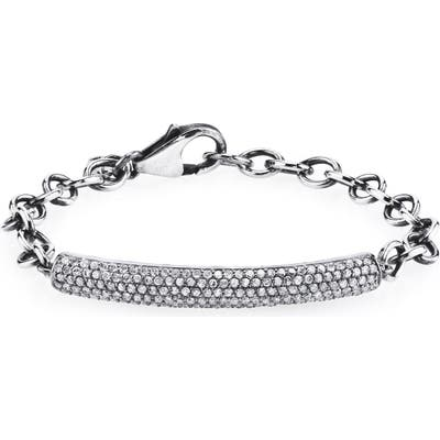 Sheryl Lowe Diamond Pave Bar Bracelet