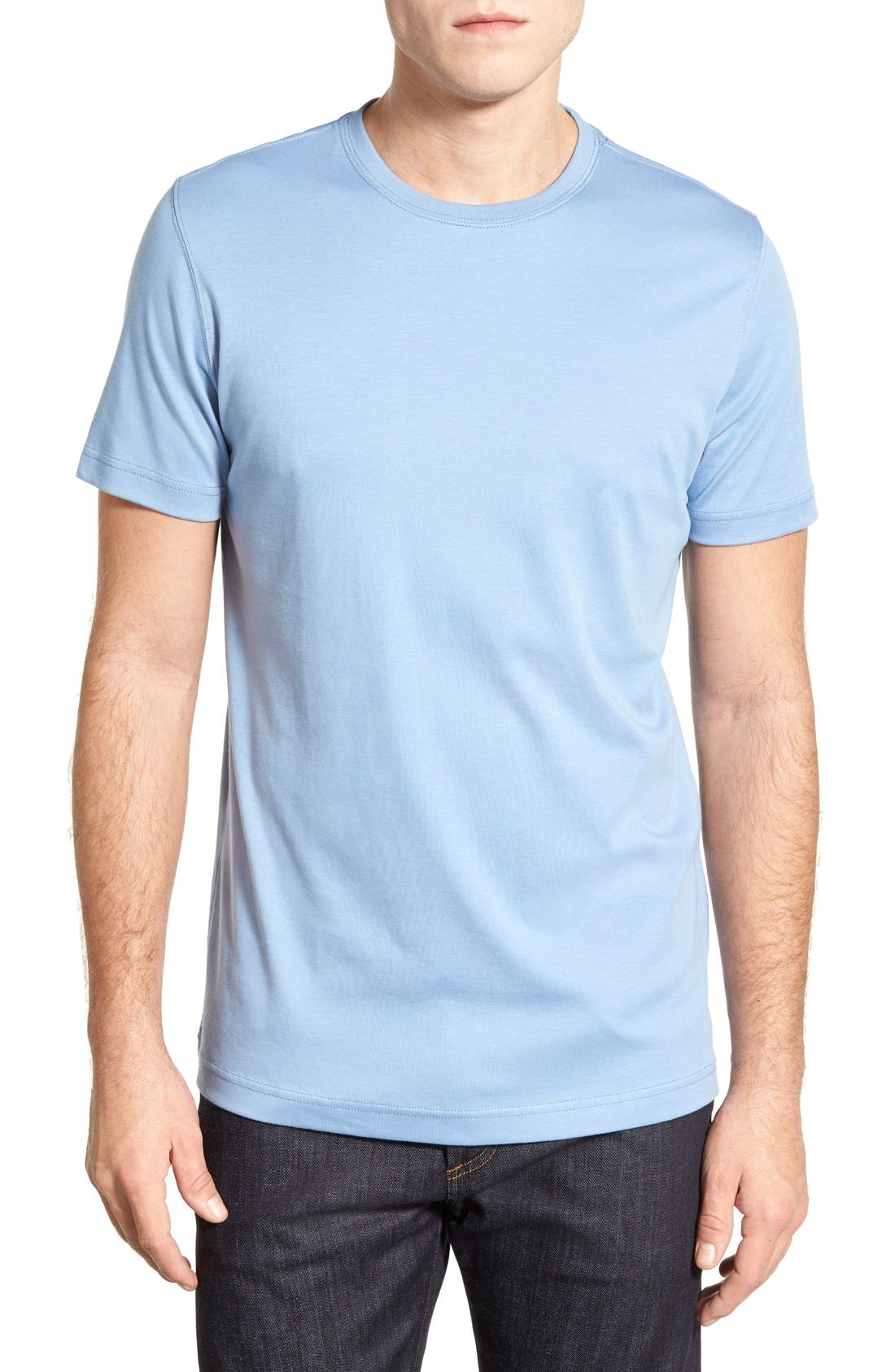 ,                             Georgia Crewneck T-Shirt,                             Main thumbnail 268, color,                             431