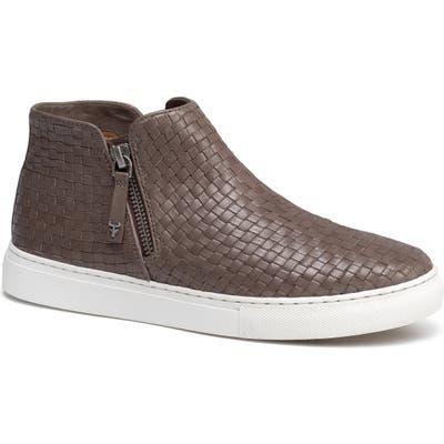Trask Lora Woven Sneaker Bootie- Grey