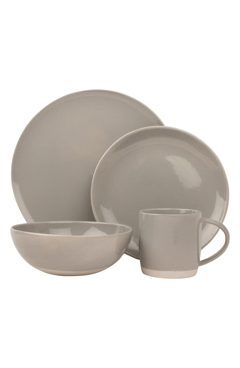 CANVAS HOME Shell Bisque 4-Piece Place Setting, Main, color, 020