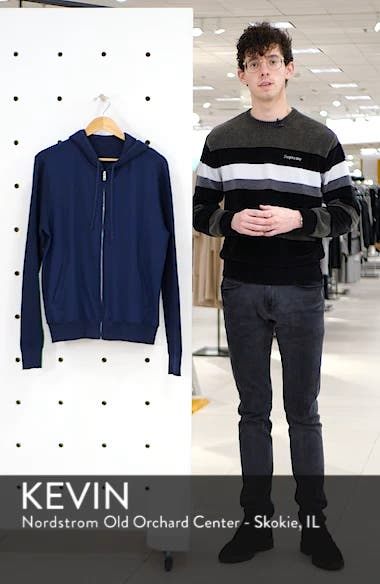 Cedarhurst Regular Fit Hooded Zip Sweater, sales video thumbnail