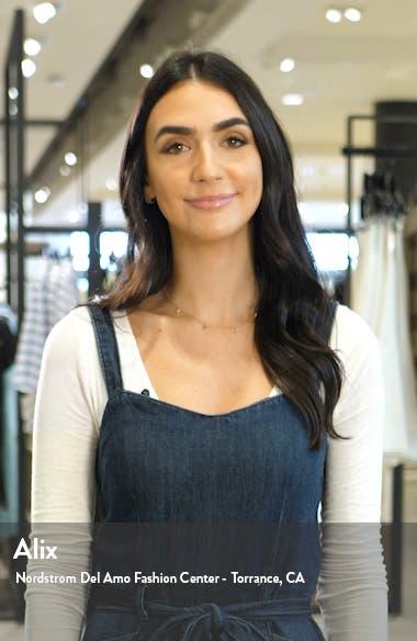 Condel Halter Neck Cotton Minidress, sales video thumbnail