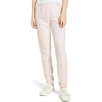 Wildfox Track Star Knox Sweatpants, Ivory