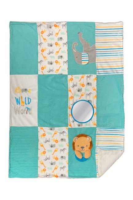 Image of Modern Baby Animal Print Activity Blanket