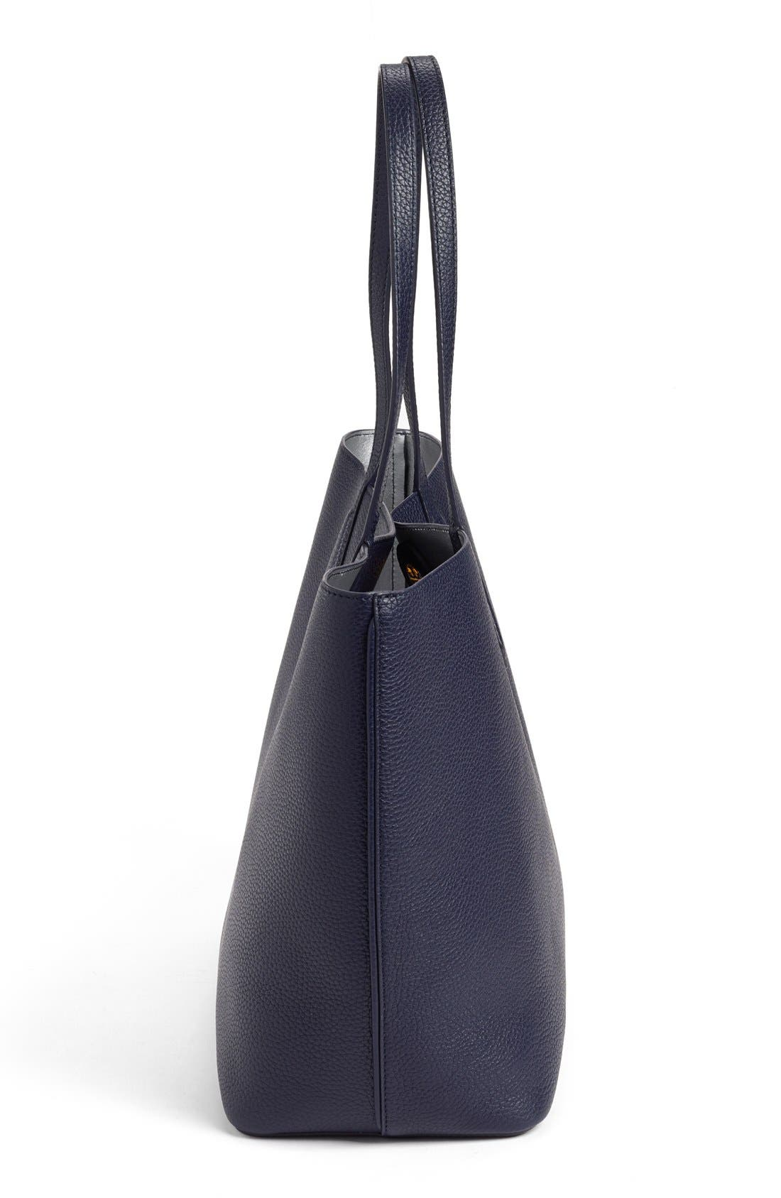 ,                             'Perry' Leather Tote,                             Alternate thumbnail 17, color,                             400