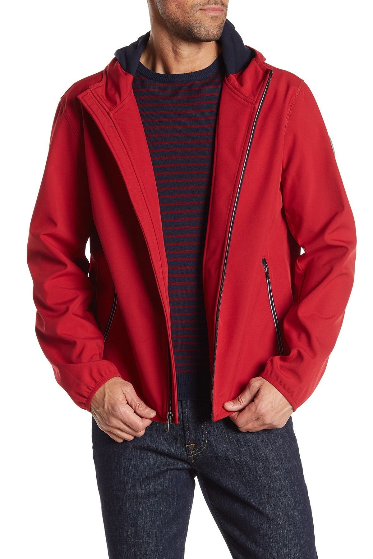 Image of Tommy Hilfiger Soft Shell Fleece Active Hoodie