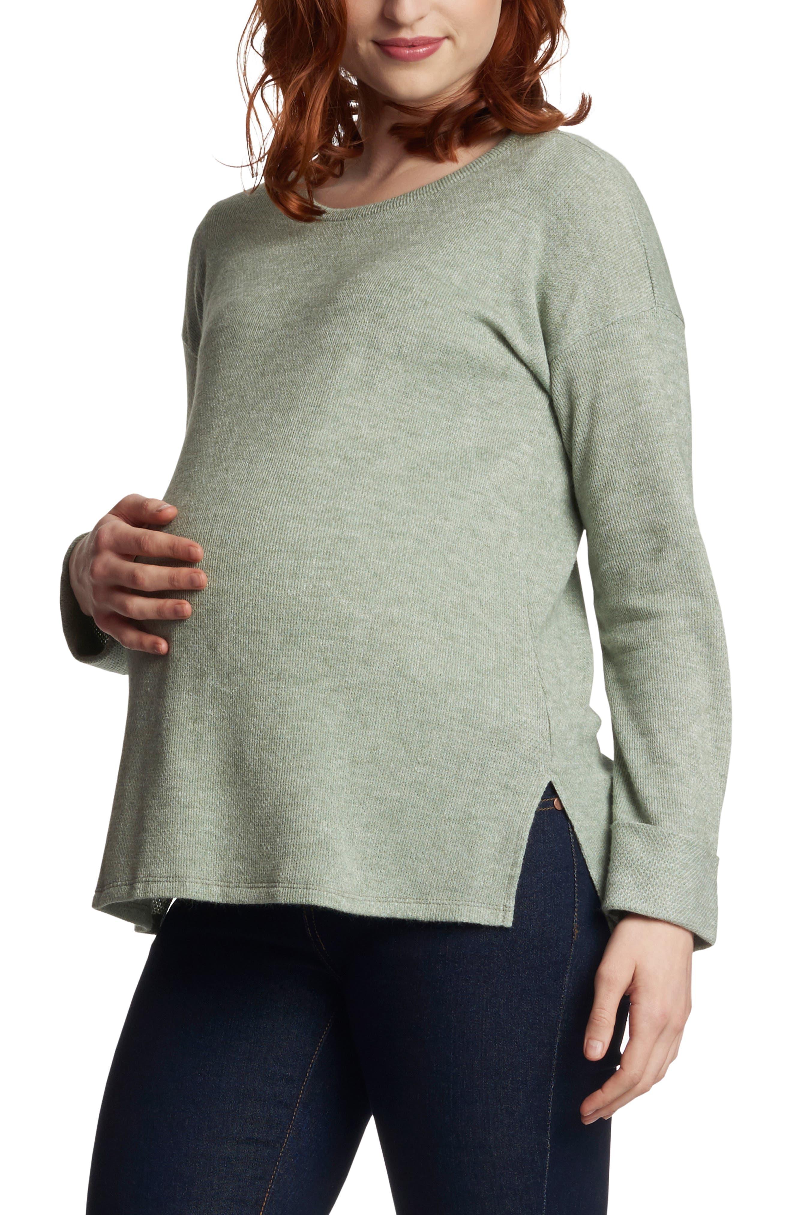 Andria Maternity/nursing Thermal Top