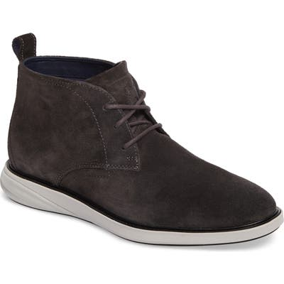 Cole Haan Grand Evolution Water Resistant Chukka Boot- Grey