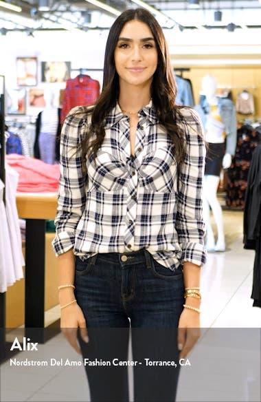 Cecilia Roll Cuff Denim Shorts, sales video thumbnail