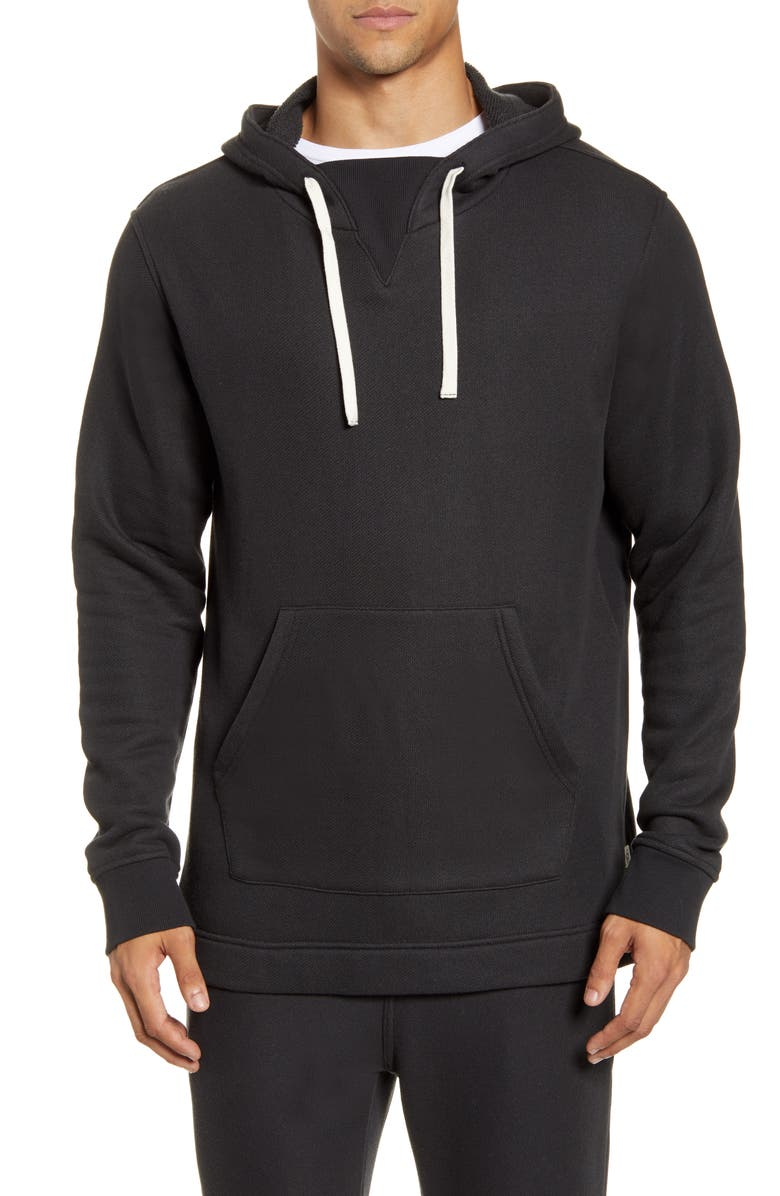UGG<SUP>®</SUP> Terrell Hoodie, Main, color, BLACK