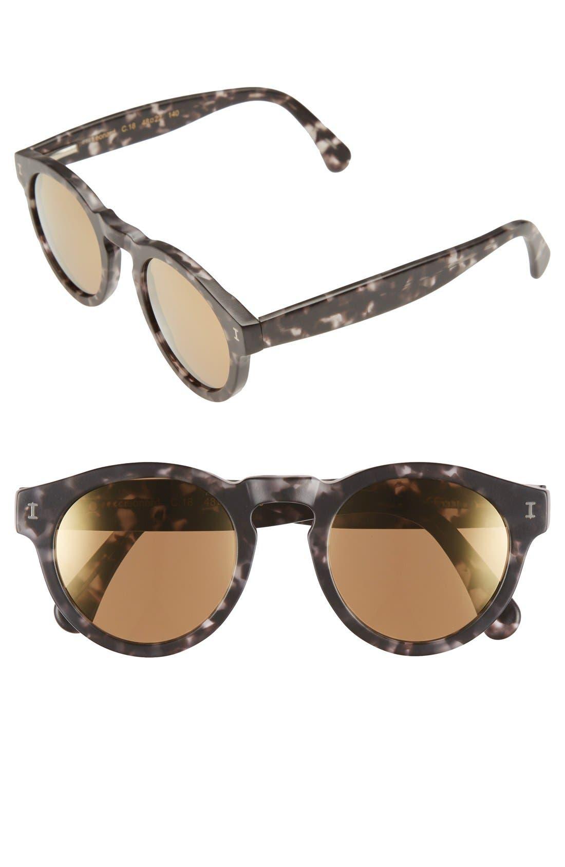 ,                             'Leonard' 47mm Sunglasses,                             Main thumbnail 17, color,                             011